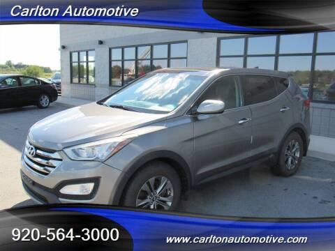 2013 Hyundai Santa Fe Sport for sale at Carlton Automotive Inc in Oostburg WI