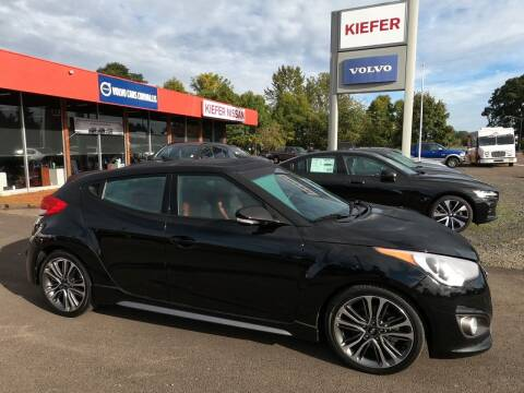 2017 Hyundai Veloster for sale at Kiefer Nissan Budget Lot in Albany OR