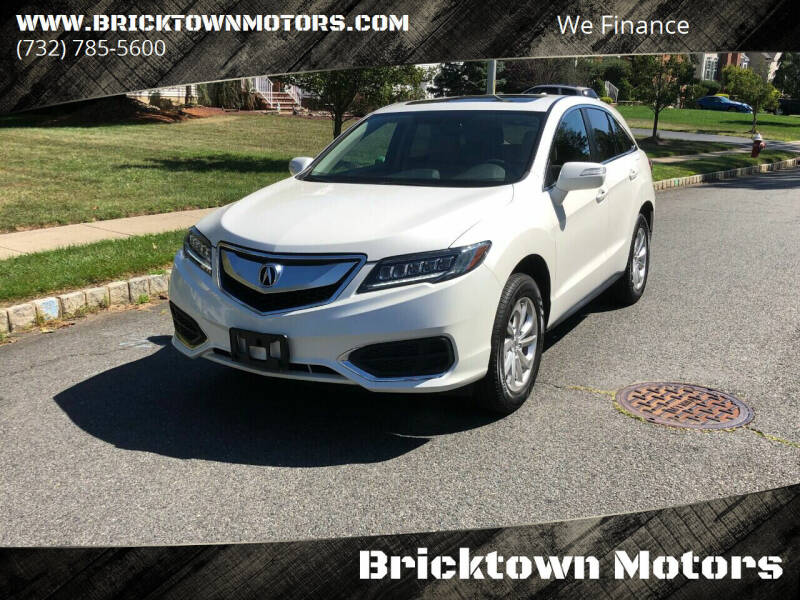 2017 Acura RDX for sale at Bricktown Motors in Brick NJ