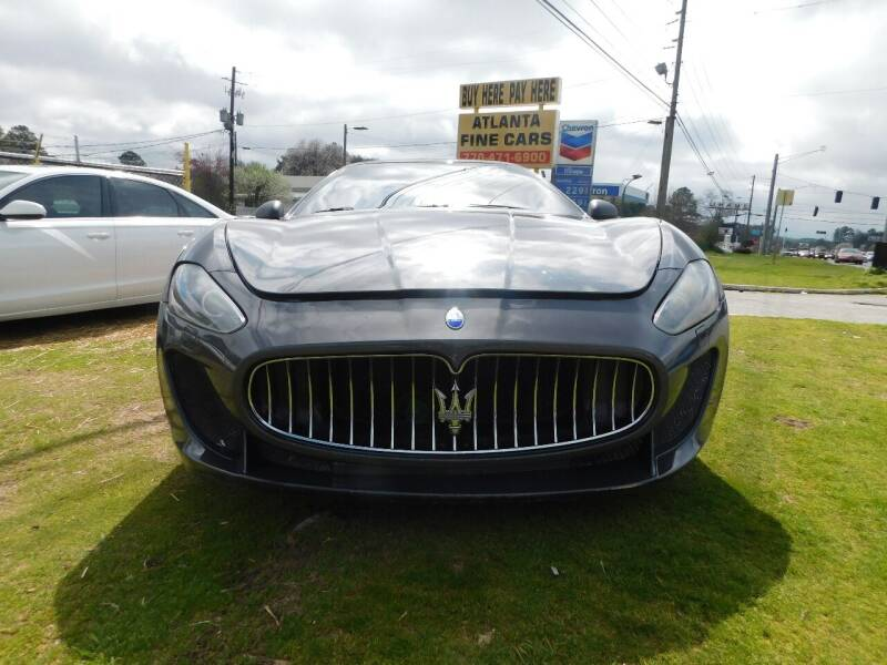2010 Maserati GranTurismo for sale at Atlanta Fine Cars in Jonesboro GA
