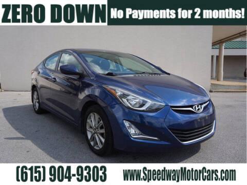 2015 Hyundai Elantra for sale at Speedway Motors in Murfreesboro TN