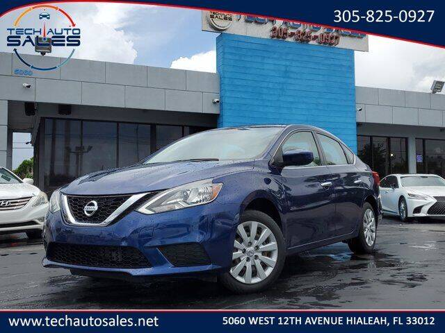 2017 Nissan Sentra for sale at Tech Auto Sales in Hialeah FL