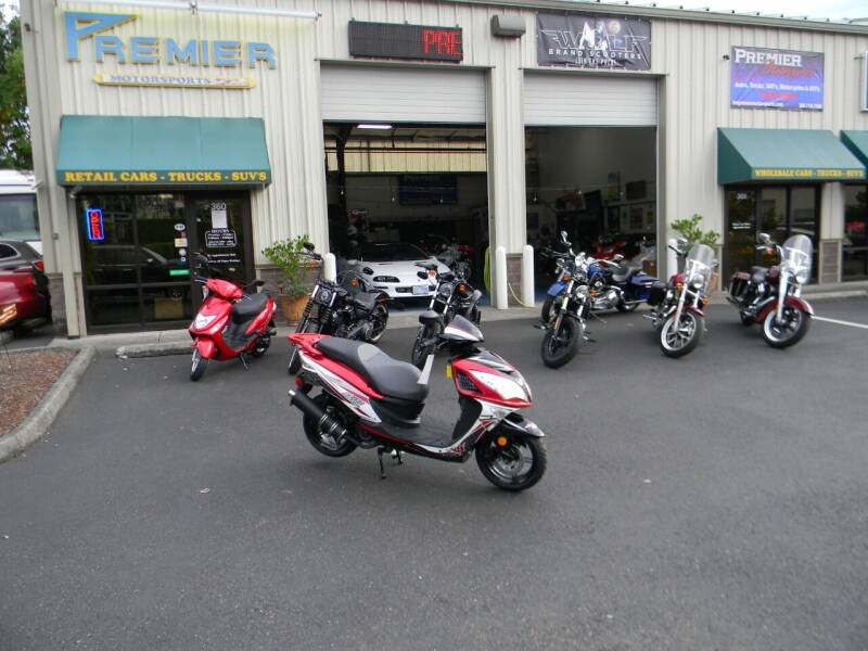 2021 Wolf Brand Scooters EX150 for sale at PREMIER MOTORSPORTS in Vancouver WA