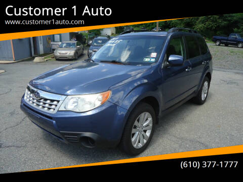 2011 Subaru Forester for sale at Customer 1 Auto in Lehighton PA