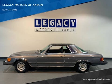 1979 Mercedes-Benz 450-Class for sale at LEGACY MOTORS OF AKRON in Akron OH