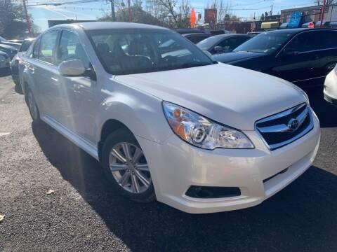 2012 Subaru Legacy for sale at Park Avenue Auto Lot Inc in Linden NJ