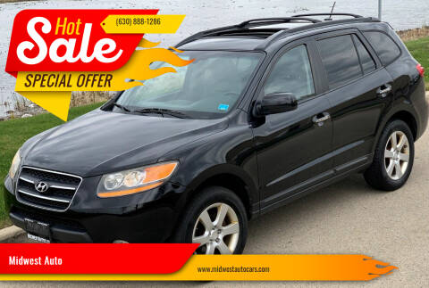 2009 Hyundai Santa Fe for sale at Midwest Auto in Naperville IL