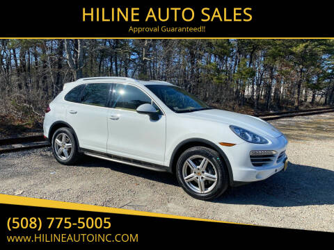 2014 Porsche Cayenne for sale at HILINE AUTO SALES in Hyannis MA