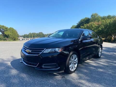 2017 Chevrolet Impala for sale at Triple A's Motors in Greensboro NC