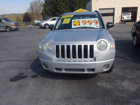 2007 Jeep Compass for sale at Dun Rite Car Sales in Downingtown PA