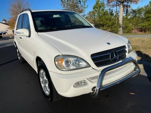 2005 Mercedes-Benz M-Class for sale at LA 12 Motors in Durham NC