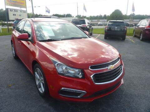 2016 Chevrolet Cruze Limited for sale at Roswell Auto Imports in Austell GA