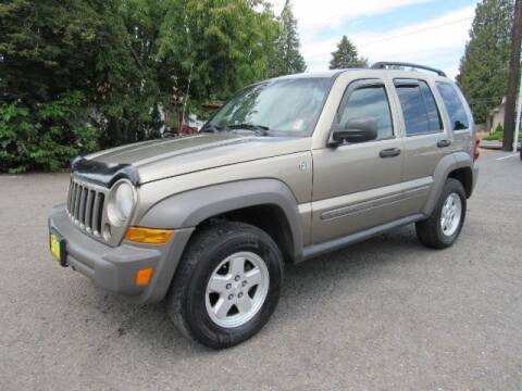 2007 Jeep Liberty for sale at Triple C Auto Brokers in Washougal WA