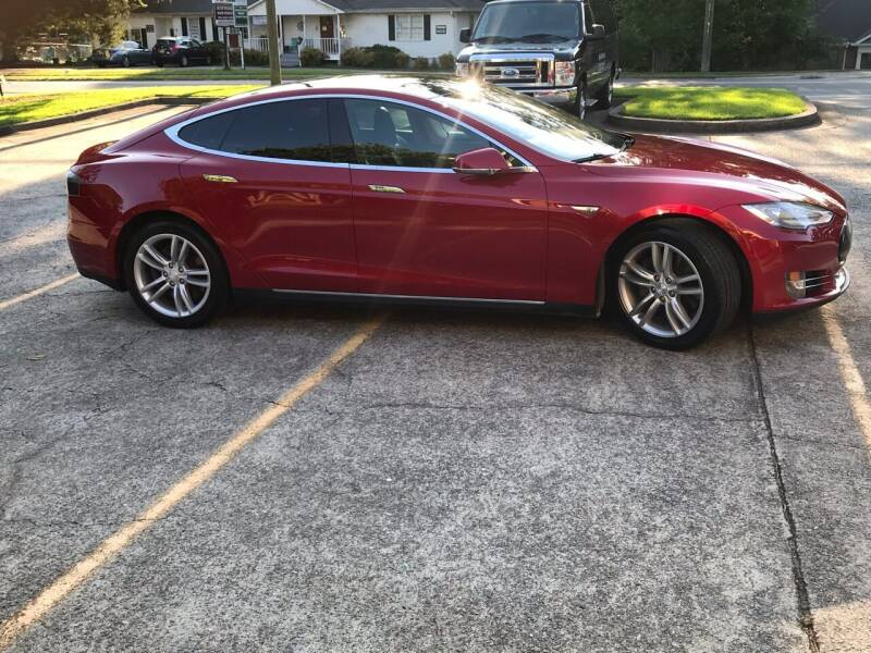 2014 Tesla Model S for sale at Paramount Autosport in Kennesaw GA