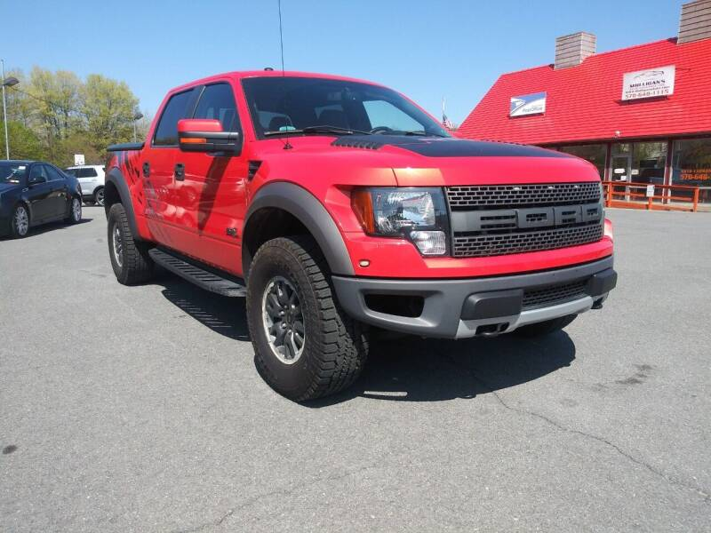 2011 Ford F-150 for sale at Mulligan's Auto Exchange LLC in Paxinos PA