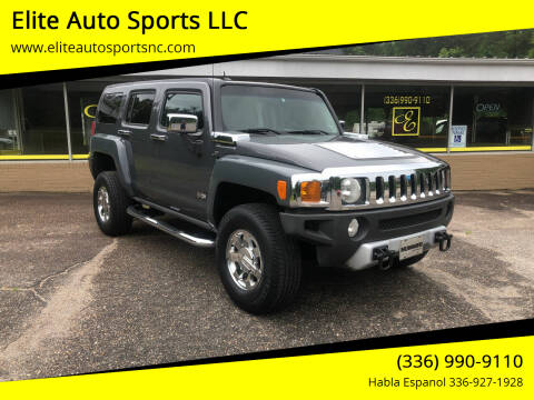 2008 HUMMER H3 for sale at Elite Auto Sports LLC in Wilkesboro NC