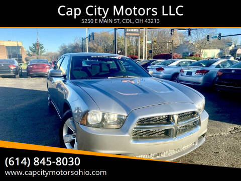 2014 Dodge Charger for sale at Cap City Motors LLC in Columbus OH