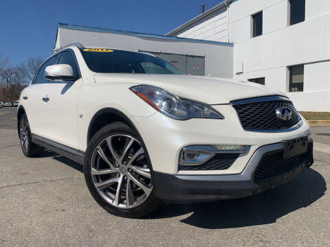 2017 Infiniti QX50 for sale at JerseyMotorsInc.com in Teterboro NJ