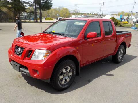 2010 Nissan Frontier for sale at RTE 123 Village Auto Sales Inc. in Attleboro MA