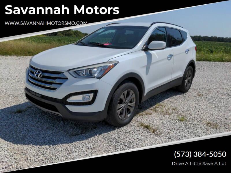 2015 Hyundai Santa Fe Sport for sale at Savannah Motors in Elsberry MO