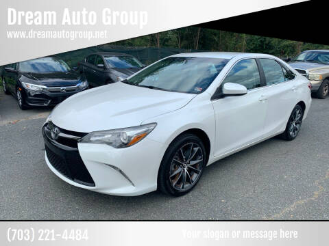 2015 Toyota Camry for sale at Dream Auto Group in Dumfries VA