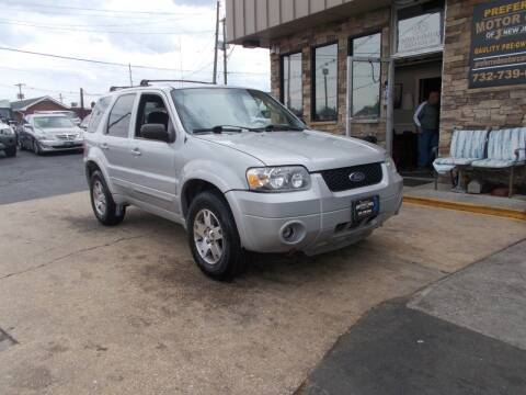 2005 Ford Escape for sale at Preferred Motor Cars of New Jersey in Keyport NJ