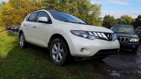 2010 Nissan Murano for sale at D & M Auto Sales & Repairs INC in Kerhonkson NY