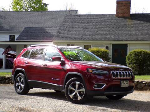 2019 Jeep Cherokee for sale at The Auto Barn in Berwick ME