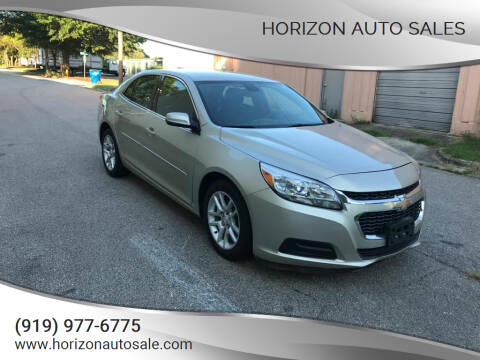 2015 Chevrolet Malibu for sale at Horizon Auto Sales in Raleigh NC