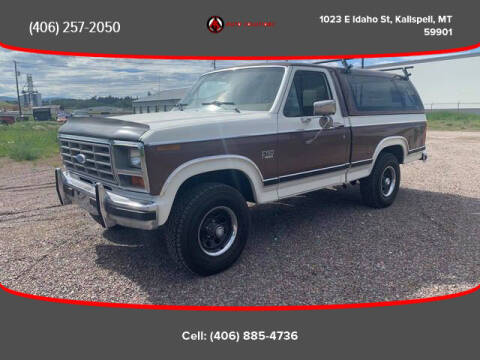 1984 Ford F-150 for sale at Auto Solutions in Kalispell MT