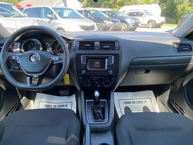 2016 Volkswagen Jetta 1.4T S 4dr Sedan 6A - Harrisonburg VA