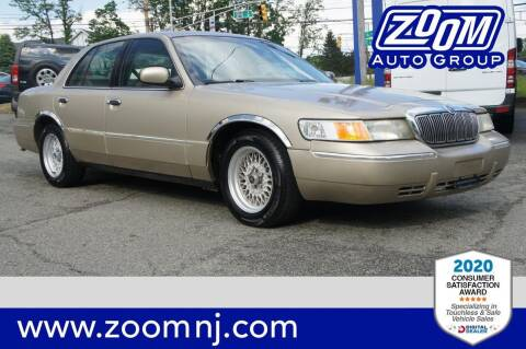 2000 Mercury Grand Marquis for sale at Zoom Auto Group in Parsippany NJ