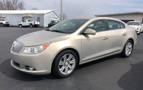 2011 Buick LaCrosse for sale at B & W Auto in Campbellsville KY