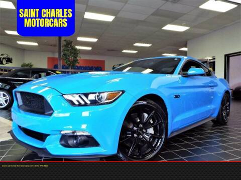 2017 Ford Mustang for sale at SAINT CHARLES MOTORCARS in Saint Charles IL