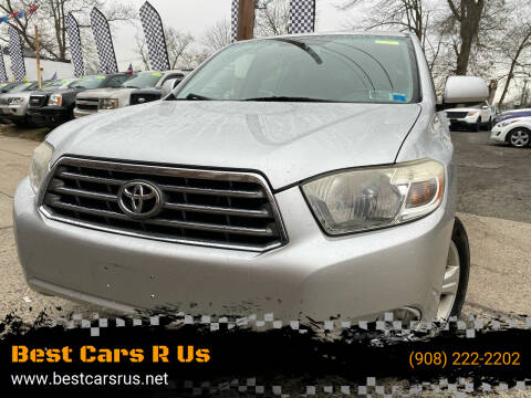 2008 Toyota Highlander for sale at Best Cars R Us in Plainfield NJ