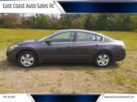 2008 Nissan Altima for sale at East Coast Auto Sales llc in Virginia Beach VA