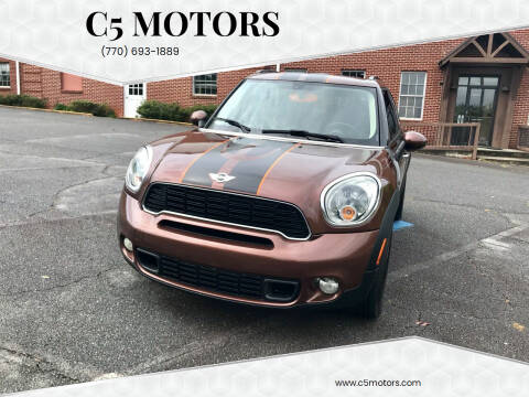 2014 MINI Countryman for sale at C5 Motors in Marietta GA