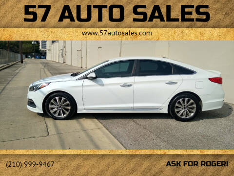 2015 Hyundai Sonata for sale at 57 Auto Sales in San Antonio TX