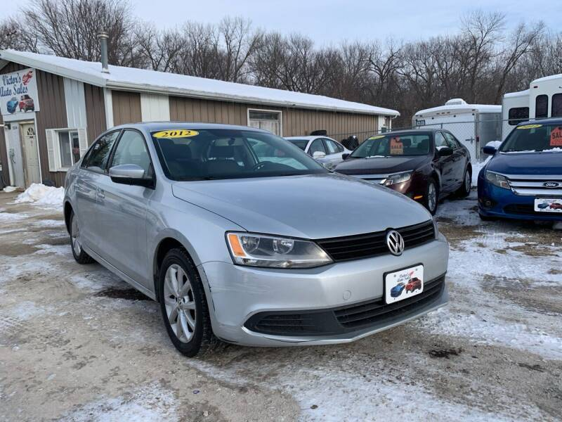2012 Volkswagen Jetta for sale at Victor's Auto Sales Inc. in Indianola IA