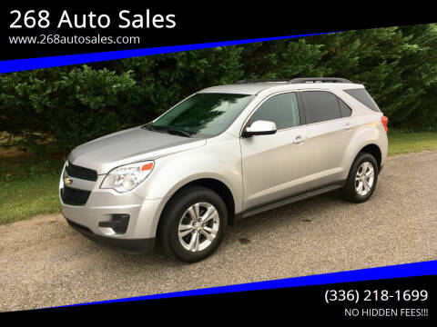 2013 Chevrolet Equinox for sale at 268 Auto Sales in Dobson NC