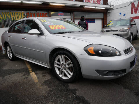 2011 Chevrolet Impala for sale at MICHAEL ANTHONY AUTO SALES in Plainfield NJ
