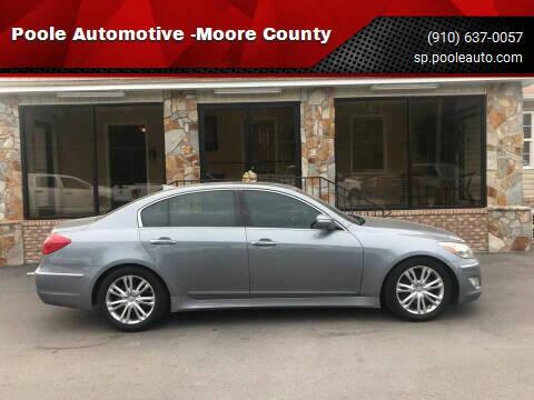 2014 Hyundai Genesis for sale at Poole Automotive in Laurinburg NC
