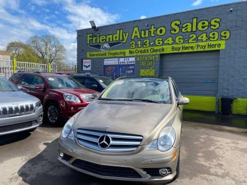 2008 Mercedes-Benz R-Class for sale at Friendly Auto Sales in Detroit MI