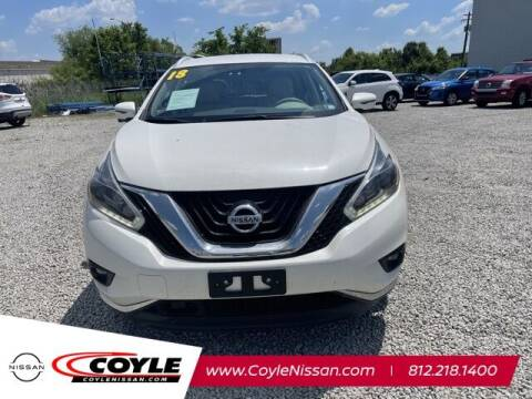 2018 Nissan Murano for sale at COYLE GM - COYLE NISSAN - New Inventory in Clarksville IN