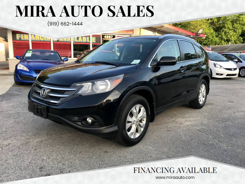 2012 Honda CR-V for sale at Mira Auto Sales in Raleigh NC
