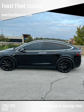 2020 Tesla Model X for sale at Foust Fleet Leasing in Topeka KS