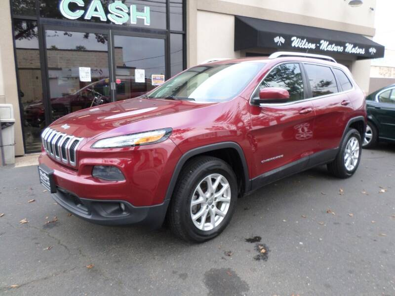 2014 Jeep Cherokee for sale at Wilson-Maturo Motors in New Haven Ct CT