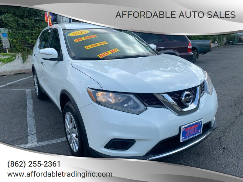 2015 Nissan Rogue for sale at Affordable Auto Sales in Irvington NJ
