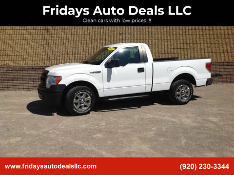 2013 Ford F-150 for sale at Fridays Auto Deals LLC in Oshkosh WI