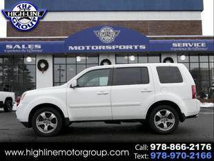 2014 Honda Pilot for sale at Highline Group Motorsports in Lowell MA